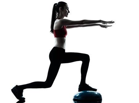 Exercise lunge bosu